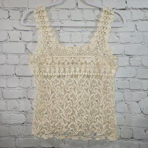 👚 American Rag Ladies Lace BOHO Tank Top